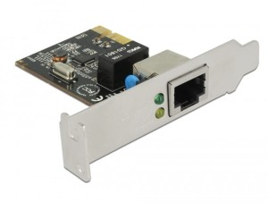 Delock Karta PCI Express LAN 1GB + LOW PR