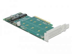 Delock Karta PCI EXpress x8-2 M.2 KEY M 89045