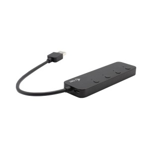 i-tec Hub USB USB 3.0 Metal HUB 4 Port On/Off
